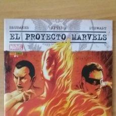 Cómics: EL PROYECTO MARVELS Nº1. PANINI. ED BRUBAKER & STEVE EPTING. PERFECTO ESTADO.. Lote 121701463