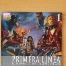 Cómics: CIVIL WAR PRIMERA LINEA NÚMEROS 1 Y 2. PANINI. MUY BUEN ESTADO.. Lote 121706195