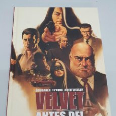 Cómics: VELVET : ANTES DEL GRAN FINAL ¡ ONE SHOT 128 PAGINAS ! ED BRUBAKE - STEVE EPTING / PANINI. Lote 121722471