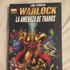 Cómics: MARVEL GOLD WARLOCK. LA AMENAZA DE THANOS. Lote 121728959