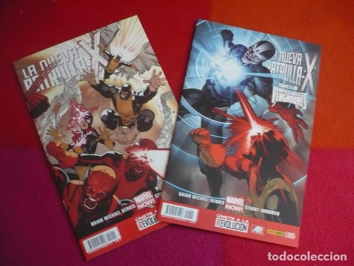 LA NUEVA PATRULLA X NºS 4 Y 5 ( BENDIS IMMONEN ) ¡MUY BUEN ESTADO! PANINI MARVEL NOW (Tebeos y Comics - Panini - Marvel Comic)