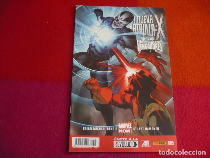 LA NUEVA PATRULLA X Nº 5 ( BENDIS IMMONEN ) ¡MUY BUEN ESTADO! PANINI MARVEL NOW (Tebeos y Comics - Panini - Marvel Comic)
