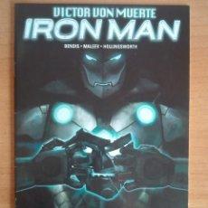 Cómics: VICTOR VON MUERTE IRON MAN 3 PANINI. Lote 121870363
