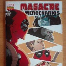 Cómics: MASACRE Y LOS MERCENARIOA 6 PANINI. Lote 121870835
