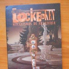 Cómics: LOCKE & KEY Nº 5 - MECANISMOS DE RELOJERIA - JOE HILL - GABRIEL RODRIGUEZ - PANINI (BÑ). Lote 122089427