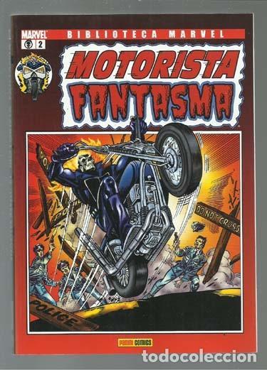BIBLIOTECA MARVEL: MOTORISTA FANTASMA 2, 2007, PANINI, IMPECABLE (Tebeos y Comics - Panini - Marvel Comic)