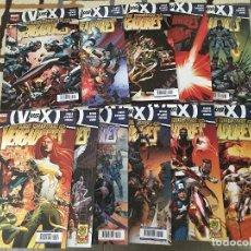 Cómics: LOTE 11 COMICS VENGADORES VVSX. LOS NUEVOS VENGADORES. IMPECABLES.. Lote 122228771