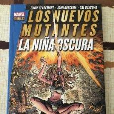 Cómics: TOMO CON SOLAPAS. LOS NUEVOS MUTANTES: LA NIÑA OSCURA. IMPECABLE.. Lote 122298659
