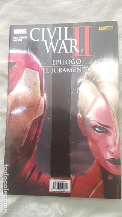 CIVIL WAR II: EPILOGO - EL JURAMENTO - PANINI (Comics und Tebeos - Panini - Marvel Comic)