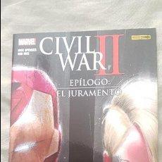 Cómics: CIVIL WAR II: EPILOGO - EL JURAMENTO - PANINI. Lote 147773545