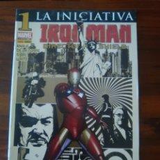 Cómics: IRON MAN - EL HOMBRE DE HIERRO - DIRECTOR DE SHIELD - LA INICIATIVA - MARVEL COMICS - PANINI. Lote 47166819