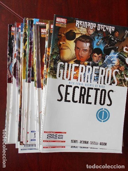 GUERREROS SECRETOS (OBRA COMPLETA ) - DESCUENTO 15%. (Tebeos y Comics - Panini - Marvel Comic)