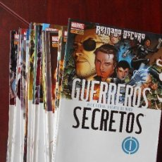 Cómics: GUERREROS SECRETOS (OBRA COMPLETA ) - DESCUENTO 15%.. Lote 124442227