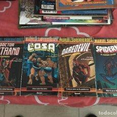 Cómics: 4 TOMOS DE FORUM - ESCOGE TU PROPIA AVENTURA - 1985 MARVEL - SPIDERMAN DAREDEVIL COSA DOCTOR EXTRAÑO. Lote 124520311