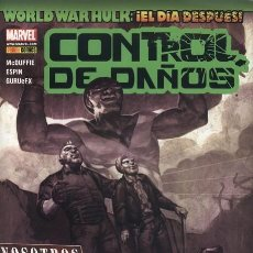 Cómics: WORLD WAR HULK: CONTROL DE DAÑOS - ESPECIAL PANINI. . Lote 125147347
