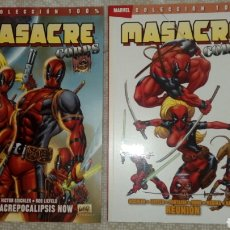 Cómics: 2 TOMOS DEADPOOL MASACRE CORPS. Lote 125192588