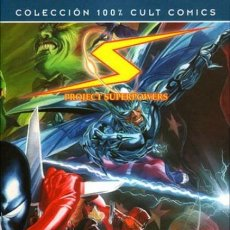 Cómics: COL. 100 % CULT COMICS - PROJECT SUPERPOWERS Nº 1 LA URNA DE PANDORA - PANINI - COMO NUEVO - OFI15. Lote 125216031