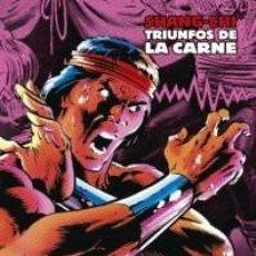 Cómics: MARVEL LIMITED EDITION. SHANG-CHI: TRIUNFOS DE LA CARNE. TOMO 5 PANINI.. Lote 125287515
