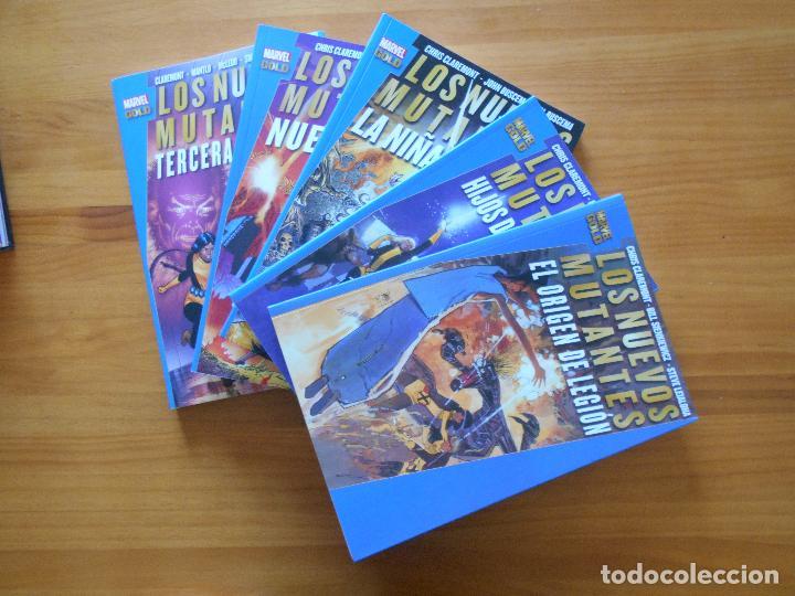 LOS NUEVOS MUTANTES COMPLETA - 5 TOMOS - MARVEL GOLD - PANINI (8K) (Tebeos y Comics - Panini - Marvel Comic)