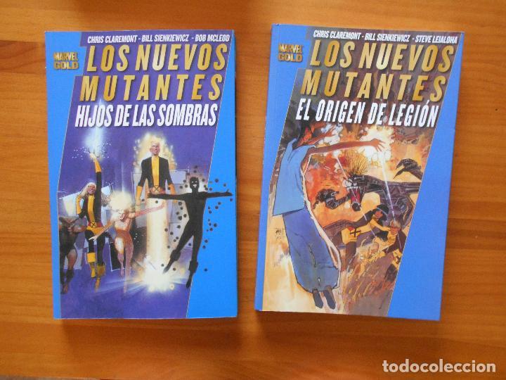 Cómics: LOS NUEVOS MUTANTES COMPLETA - 5 TOMOS - MARVEL GOLD - PANINI (8K) - Foto 2 - 126291023