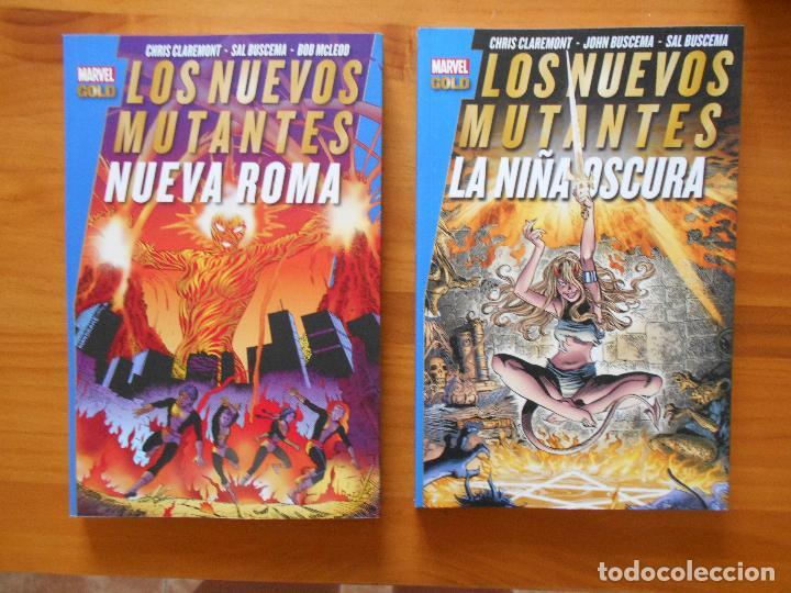 Cómics: LOS NUEVOS MUTANTES COMPLETA - 5 TOMOS - MARVEL GOLD - PANINI (8K) - Foto 3 - 126291023