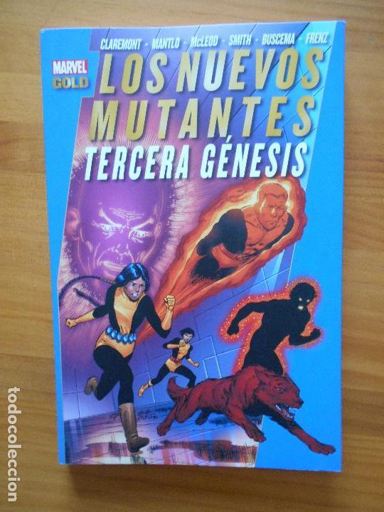 Cómics: LOS NUEVOS MUTANTES COMPLETA - 5 TOMOS - MARVEL GOLD - PANINI (8K) - Foto 4 - 126291023