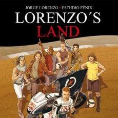 Cómics: LORENZO'S LAND (JORGE LORENZO / ESTUDIO FENIX) PANINI - TAPA DURA - MUY BUEN ESTADO - OFI15. Lote 126758775
