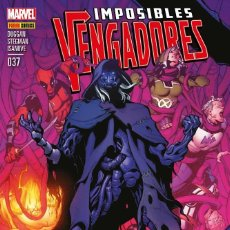 Cómics: COMIC MARVEL - IMPOSIBLES VENGADORES - PANINI COMICS - 037 - NUEVO SIN USAR. Lote 126846739
