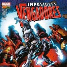 Cómics: COMIC MARVEL - IMPOSIBLES VENGADORES - PANINI COMICS - 045 - NUEVO EN BOLSA. Lote 126847887