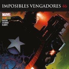 Cómics: COMIC MARVEL - IMPOSIBLES VENGADORES - CIVIL WAR II - PANINI COMICS - 46 - NUEVO. Lote 126848087