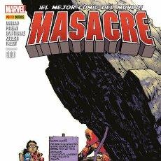 Cómics: COMIC MARVEL - MASACRE - PANINI COMICS - 003 - ¡EL MEJOR CÓMIC DEL MUNDO! NUEVO . Lote 126878151