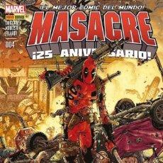Cómics: COMIC MARVEL - MASACRE - PANINI COMICS - 004 - ¡EL MEJOR CÓMIC DEL MUNDO! NUEVO . Lote 126878211