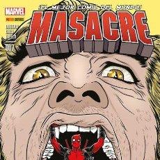 Cómics: COMIC MARVEL - MASACRE - PANINI COMICS - 007 - ¡EL MEJOR CÓMIC DEL MUNDO! NUEVO . Lote 126878567