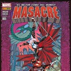 Cómics: COMIC MARVEL - MASACRE - PANINI COMICS - 008 - ¡EL MEJOR CÓMIC DEL MUNDO! NUEVO . Lote 126878587