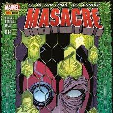 Cómics: COMIC MARVEL - MASACRE - PANINI COMICS - 012 - CIVIL WAR II - NUEVO. Lote 126879003