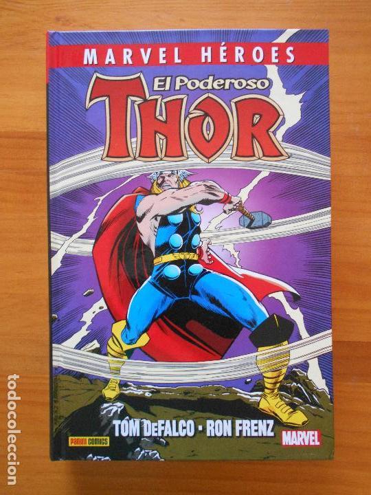EL PODEROSO THOR - MARVEL HEROES - TOM DEFALCO - RON FRENZ - PANINI (CI) (Tebeos y Comics - Panini - Marvel Comic)