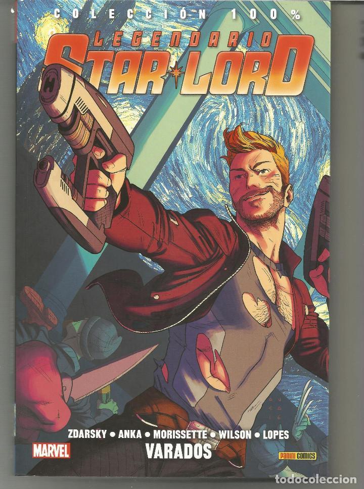 100% MARVEL. LEGENDARIO STARLORD 3 PANINI CÓMICS (Tebeos y Comics - Panini - Marvel Comic)