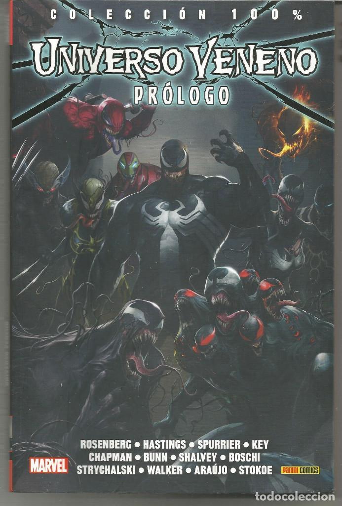 100% MARVEL. UNIVERSO VENENO PANINI CÓMICS (Tebeos y Comics - Panini - Marvel Comic)