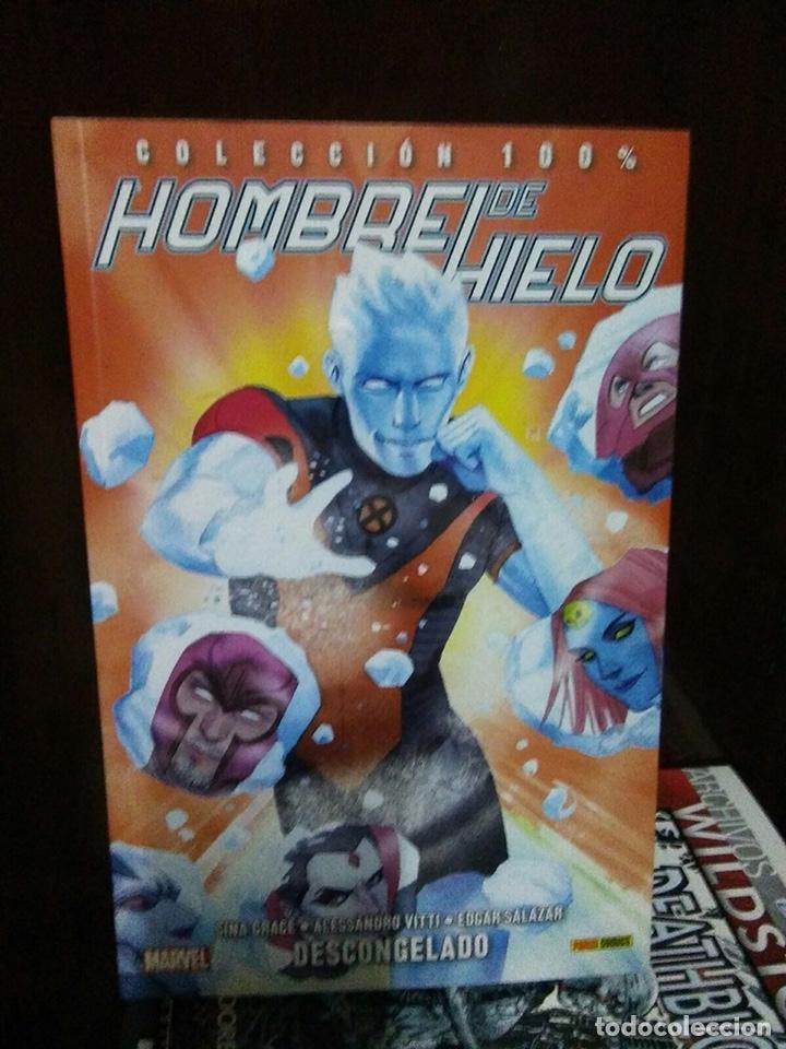 HOMBRE DE HIELO (Tebeos y Comics - Panini - Marvel Comic)