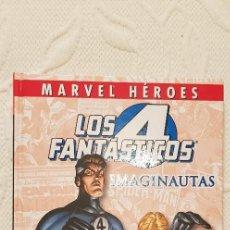 Cómics: LOTE DOS TOMOS. MARVEL HEROES LOS 4 FANTASTICOS IMAGINAUTAS.. Lote 128102131