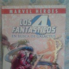 Cómics: MARVEL HEROES: LOS 4 FANTASTICOS: EN BUSCA DE GALACTUS: PANINI. Lote 128490587