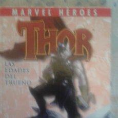 Cómics: MARVEL HEROES: THOR: LAS EDADES DEL TRUENO: PANINI. Lote 128490651