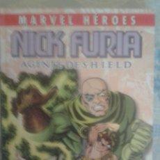 Cómics: MARVEL HEROES: NICK FURIA: AGENTE DE S.H.I.E.L.D: JIM STERANKO: PANINI. Lote 128492747