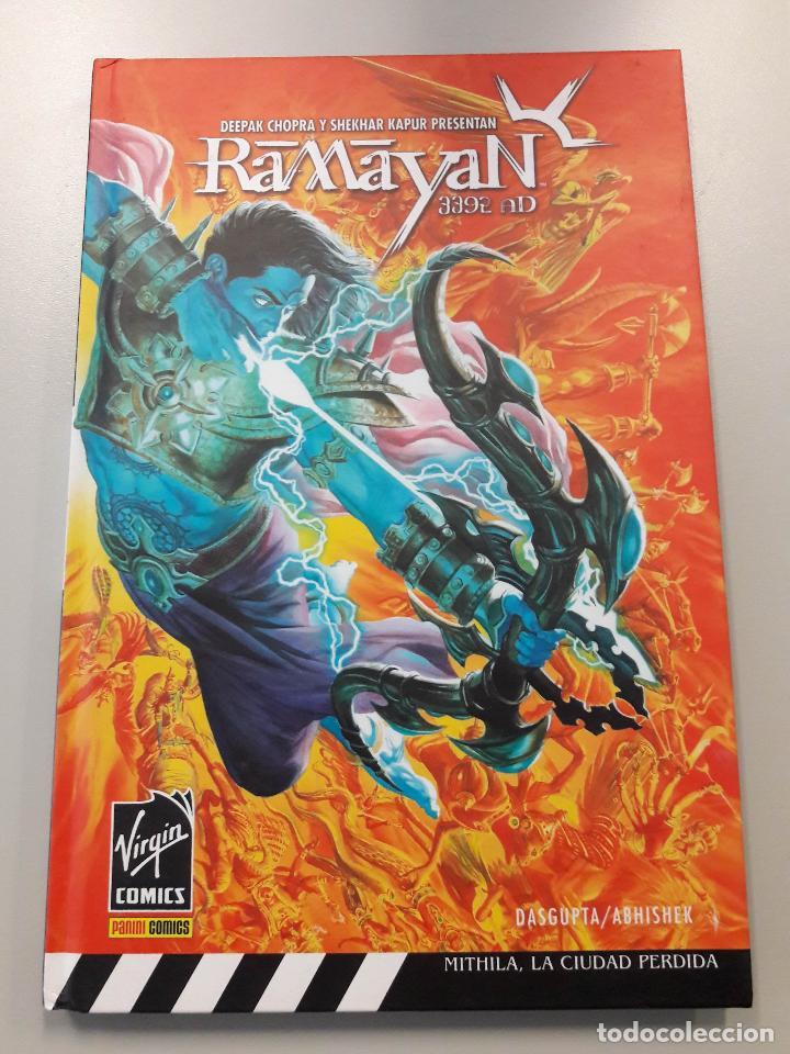 RAMAYAN 3392 AD. VIRGIN COMICS POR CHOPRA Y KAPUR. PANINI COMICS 2007 (Tebeos y Comics - Panini - Otros)