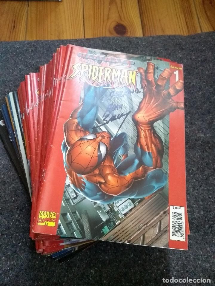 ULTIMATE SPIDERMAN COMPLETA + ESPECIAL 2003 - CON FIRMA DE MARK BAGLEY (Tebeos y Comics - Panini - Marvel Comic)