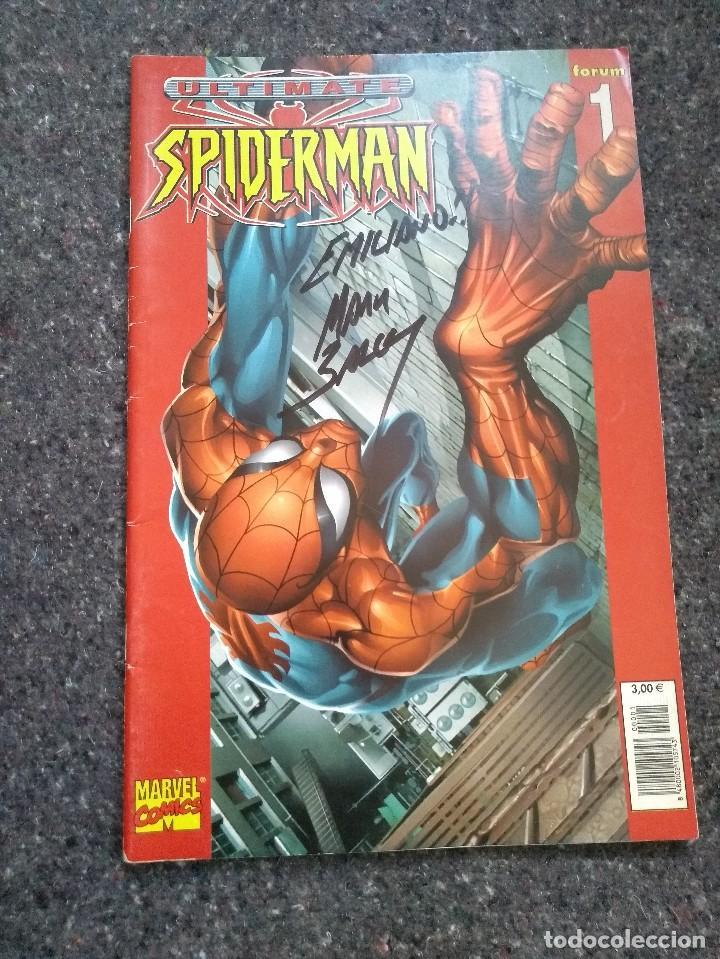Cómics: Ultimate Spiderman completa + Especial 2003 - con firma de Mark Bagley - Foto 2 - 128796071