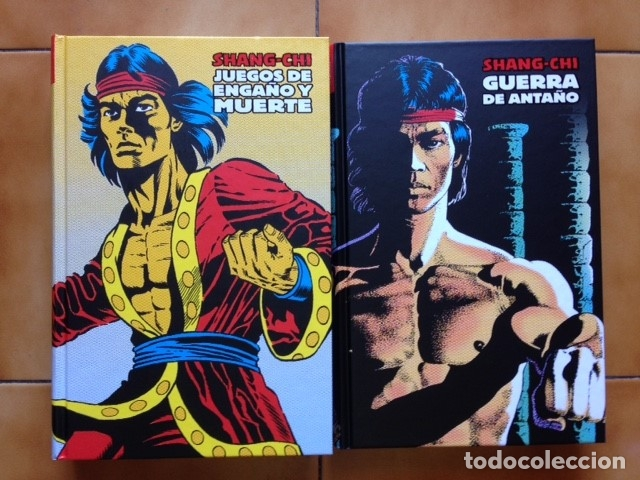 MARVEL LIMITED EDITION SHANG CHI MAESTRO KUNG FU INTEGRAL 2 3 4 5 6 Y 7 DOUG MOENCH PAUL GULACY ... (Tebeos y Comics - Panini - Marvel Comic)