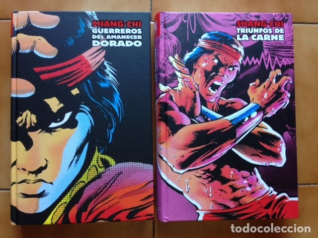 Cómics: Marvel limited edition shang chi maestro kung fu integral 2 3 4 5 6 y 7 Doug Moench Paul Gulacy ... - Foto 2 - 96268035