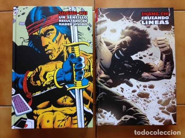 Cómics: Marvel limited edition shang chi maestro kung fu integral 2 3 4 5 6 y 7 Doug Moench Paul Gulacy ... - Foto 3 - 96268035