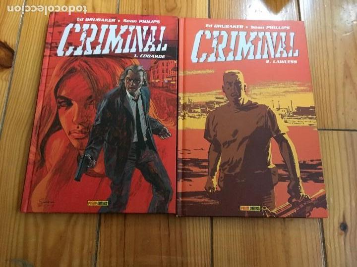 CRIMINAL TOMOS 1 Y 2 - COBARDE Y LAWLESS (Tebeos y Comics - Panini - Marvel Comic)